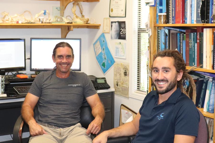 Bryan and his advisor, Dr. Dean Grubbs