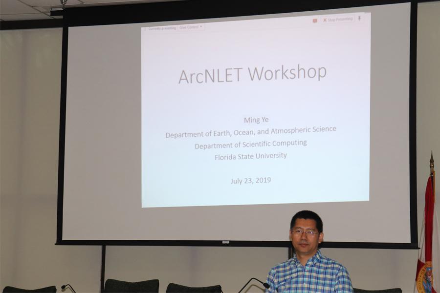 Dr.Ye's workshop presentation